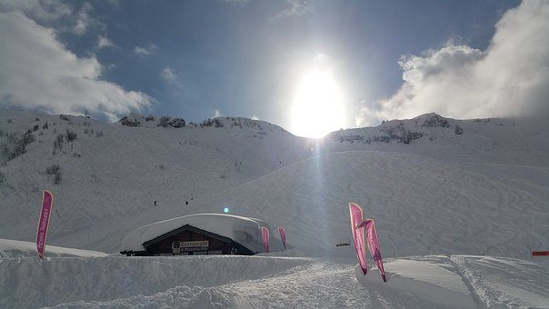 Chatel, Skiing, Snow, Piste, Alpine, France, Alps, Ski