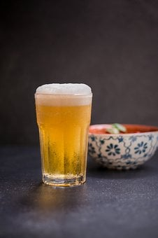 Beer, Glass, Foam, Chilled, Snack, Cool, Drink, Frisch