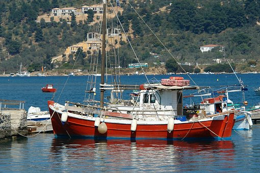 Fishing, Boat, Water, Sea, Travel, Vacation, Summer