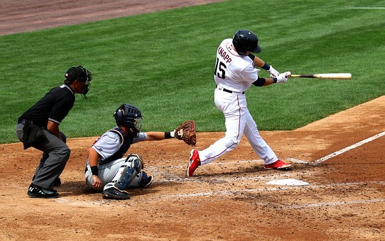 Baseball, Swing, Catcher, Batter, Ball, Player, Team