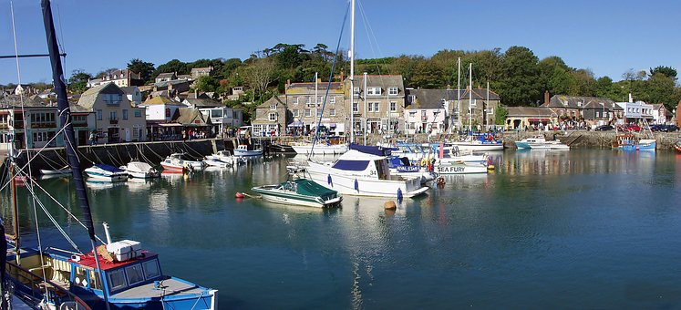 Padstow, Harbour, Harbor, Cornwall, England, Uk