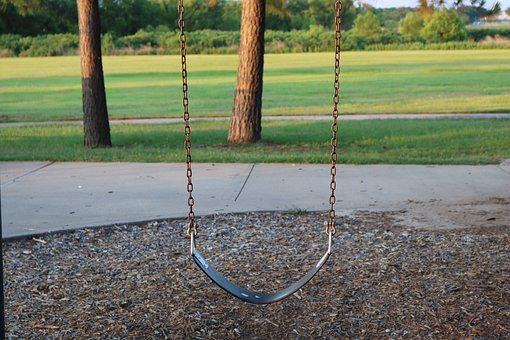 Swing, Play Ground, Outdoors, Active, Children, Leisure