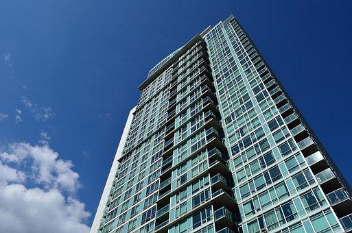Condo, Balconies, Balcony, Building, Apartment