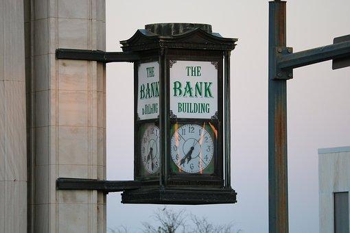 Clock, City, Time, Antique, Architecture, Historic