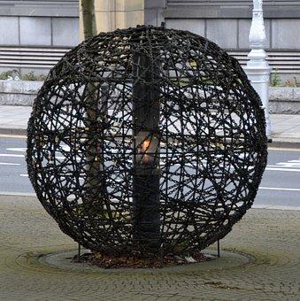 Art, Monument, Sculpture, Artwork, Ball, Creativity