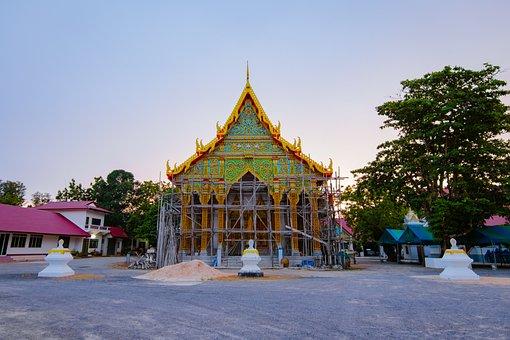 Temple, Ancient, Architecture, Art, Asia, Asian