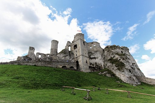 Old, Ruin, Building, Attraction, Landscape, Castle