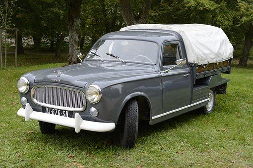 Car, 403, Old Car, Automobile, 403 Peugeot, Vehicle