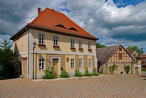 Marketplace, Dornburg, Thuringia Germany, Germany