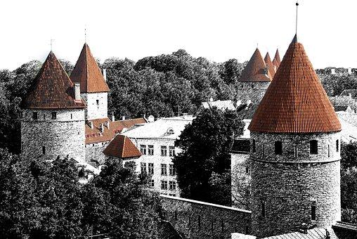 Tallinn, Estonia, Travel, Baltic, City, Architecture