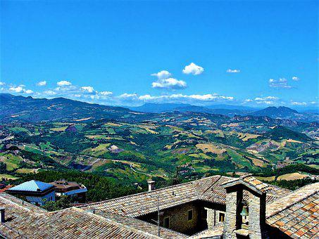The Roof Of The, View, Landscape, Italy