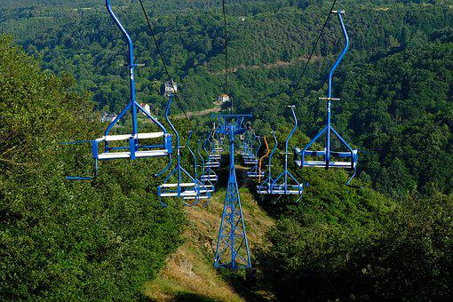 Cable Car, Chairlift, Lift, Mountains, Mountain Railway