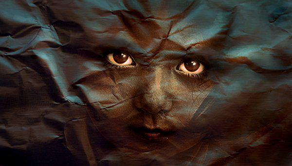 Face, Eyes, Portrait, Human, Child, Composing