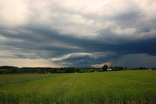 Weather, Clouds, Sky, Cloud Cover, Nature, Blue, Rain