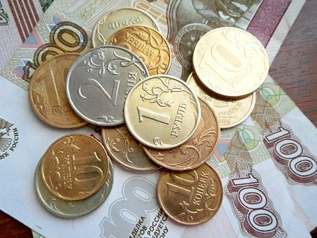 Coins, Currency, Money, Trifle, Finances, Russian