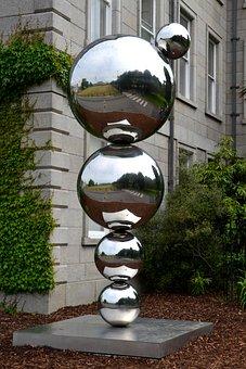 Art, Sculpture, Sculptures, Modern, Metal, Plastic