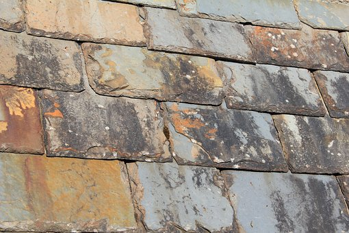 Tiles, Roof, Texture, Rooftop, Exterior, Material, Old