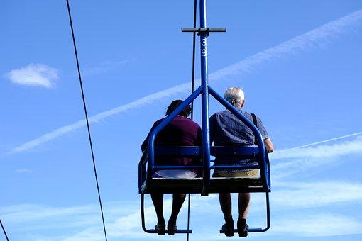 Cable Car, Gondola, High, Transport, Mountain Railway