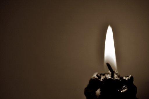 Flame, Candle, Christmas, Light, Sepia, Burning