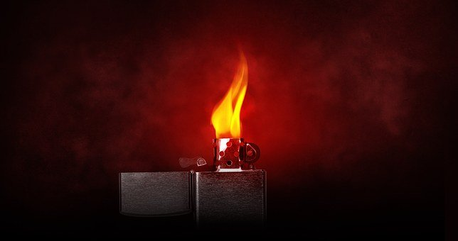 Lighter, Flame, Burn, Kindle, Light, Warm, Zippo, Heat