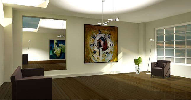Entity, Lichtraum, Exhibition, Gallery, Living Room