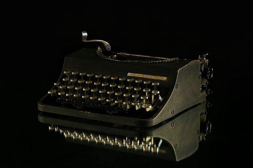 Machine, To Write, Keys, Communication, Letters, Ink