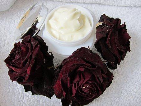 Skin Care, Natural Cream, Rose, Skin Care Beauty, Spa