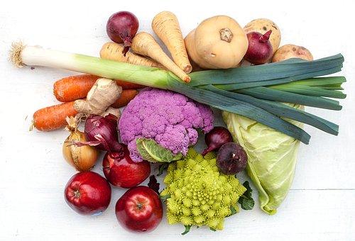 Vegetables, Season, Leek, Apple, Useful, Health