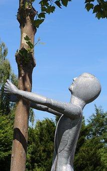 Figure, Metal, Sculpture, Statue, Art, Artwork