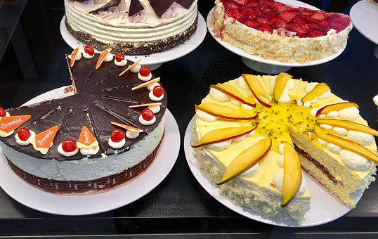 Cake, Bake, Pastries, Delicious, Food, Festival