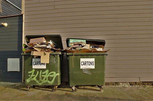 Dustbin, Garbage, Waste, Ton, Waste Disposal