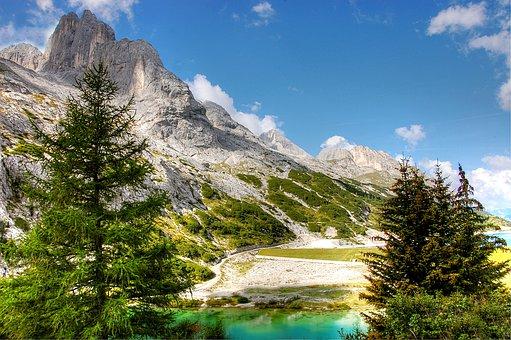 Dolomites, Mountains, South Tyrol, Italy, Alpine