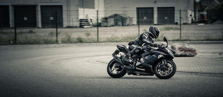 Motorcycle, Motorcyclist, Two Wheeled Vehicle