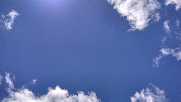 Clouds, Sky, Blue Sky Clouds, Nature