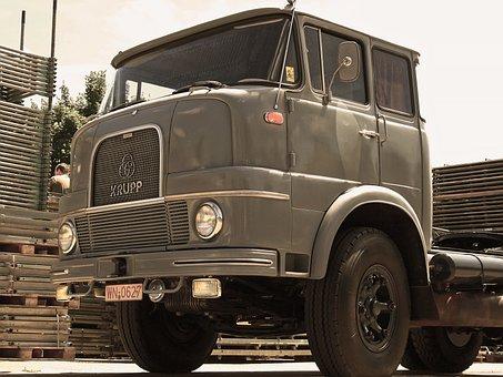 Old, Past, Antique, Nostalgia, Auto, Truck, Vice, Car