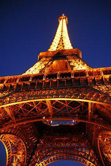 Paris, Eiffel Tower, Capital, France, Tower, Monument