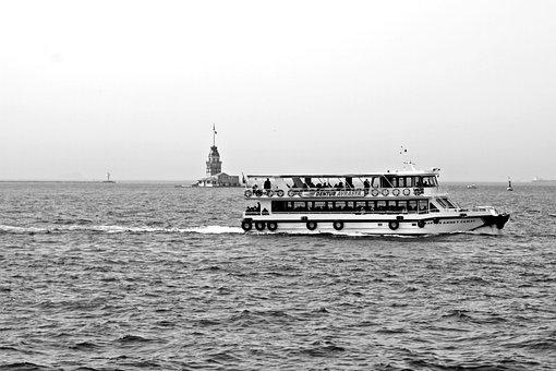 Port Motifs, Monochrome, Black And White, Greyscale