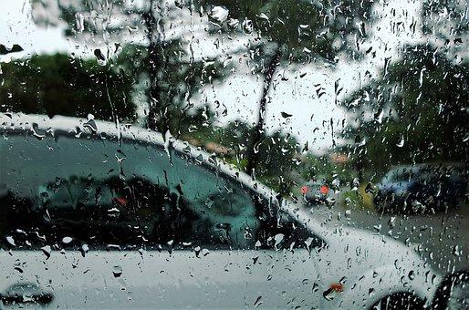 Rain, Auto, Run Off