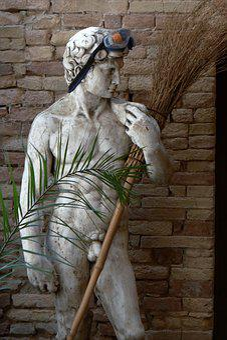 Adonis, Statue, Figure, Man, Sculpture, Face, Head, Art