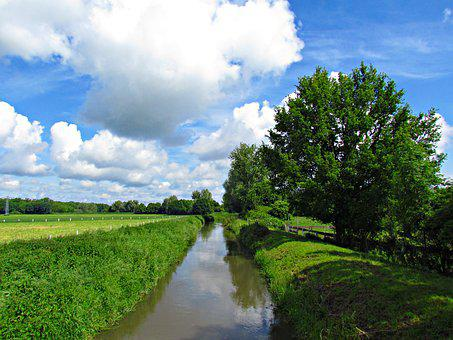 Brook, Nature, Landscape, Water, The Brook, Torrent