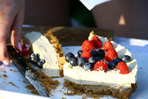Cheese Cake, Yummy, Sweet, Dessert, Cake, Delicious