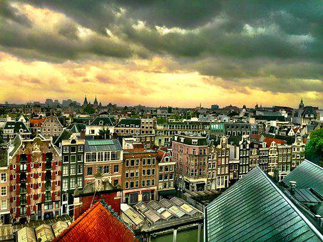 Amsterdam, Channels, Netherlands, Life, Channel