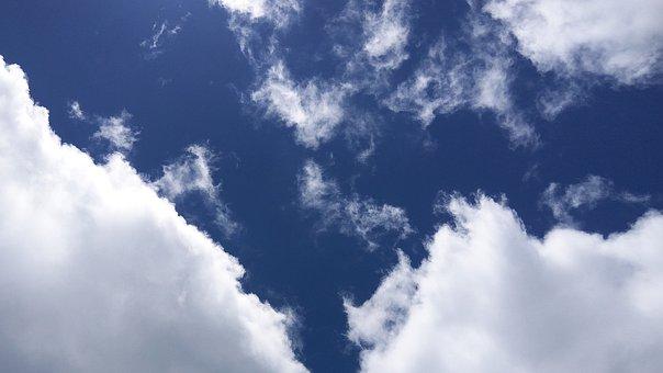 Clouds, Blue Sky, Blue Sky Clouds, Blue Sky Background