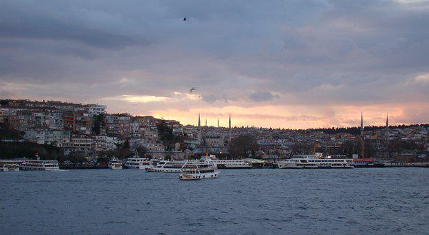Turkey, Bosphorus, Strait, Istanbul, Bridge, Channel