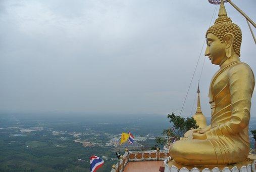 Krabi, Thailand, Buddha, Church, Buddhist