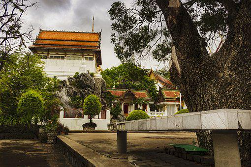 Temple, Alone, Travel, Religion, Tourist, Building, Old