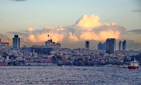 Turkey, Bosphorus, Strait, Istanbul, Bridge, Channel