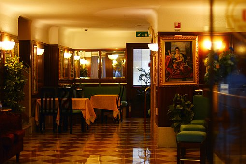 Venice, Italy, Rich, The Interior Of The, Hotel
