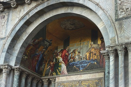 Venice, Italy, The Basilica, Square, The Holy, Brand