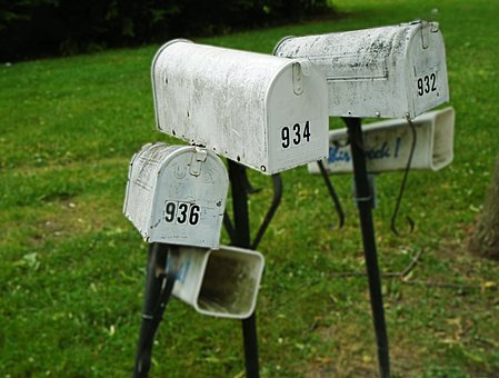 Mailbox, Postbox, Letterbox, Mail, Post, Numbers